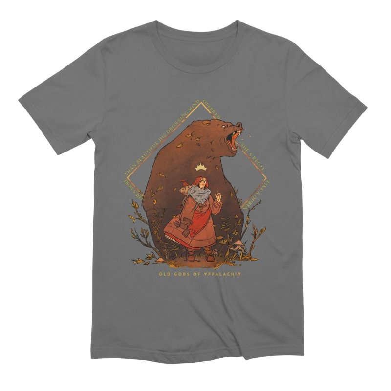 Old Gods of Appalachia: The Witch Queen and Bartholomew Men's T-Shirt by OLD GODS OF APPALACHIA