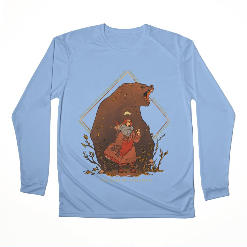 Old Gods of Appalachia: The Witch Queen and Bartholomew Men's Performance Longsleeve T-Shirt by OLD GODS OF APPALACHIA