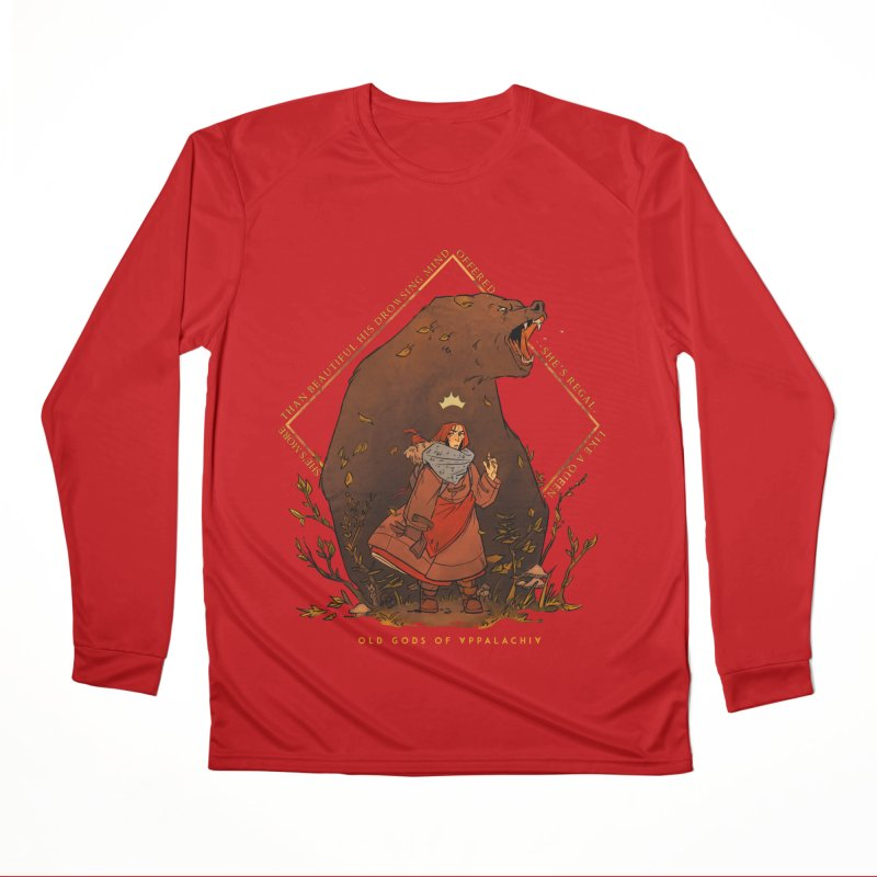 Old Gods of Appalachia: The Witch Queen and Bartholomew Women's Performance Unisex Longsleeve T-Shirt by OLD GODS OF APPALACHIA