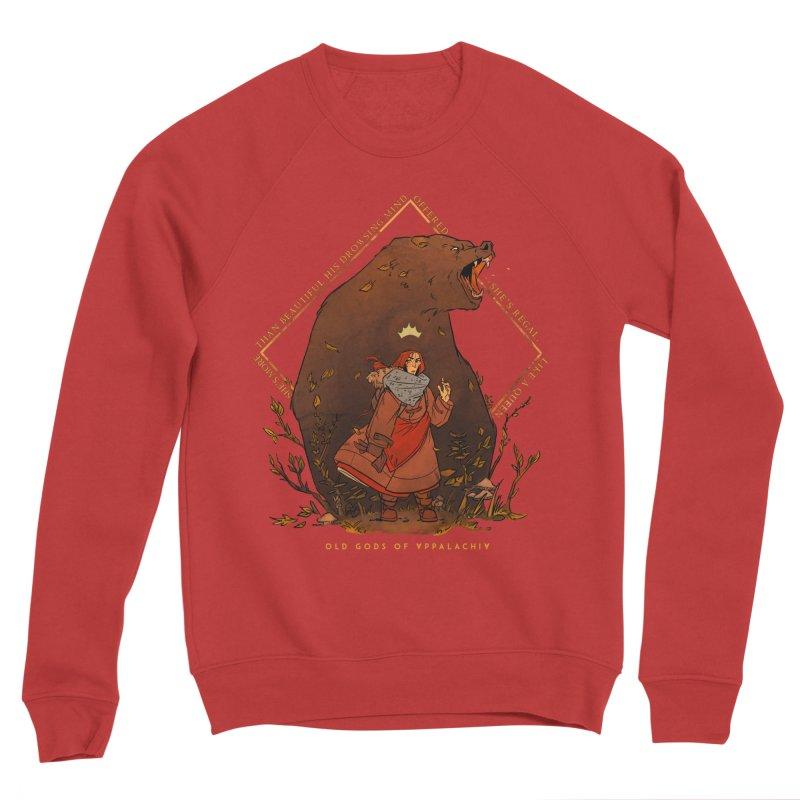 Old Gods of Appalachia: The Witch Queen and Bartholomew Men's Sponge Fleece Sweatshirt by OLD GODS OF APPALACHIA