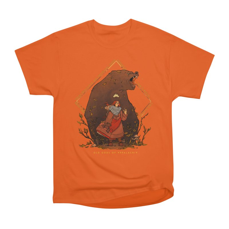 Old Gods of Appalachia: The Witch Queen and Bartholomew Men's Heavyweight T-Shirt by OLD GODS OF APPALACHIA