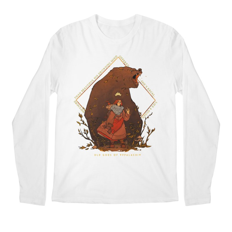 Old Gods of Appalachia: The Witch Queen and Bartholomew Men's Regular Longsleeve T-Shirt by OLD GODS OF APPALACHIA