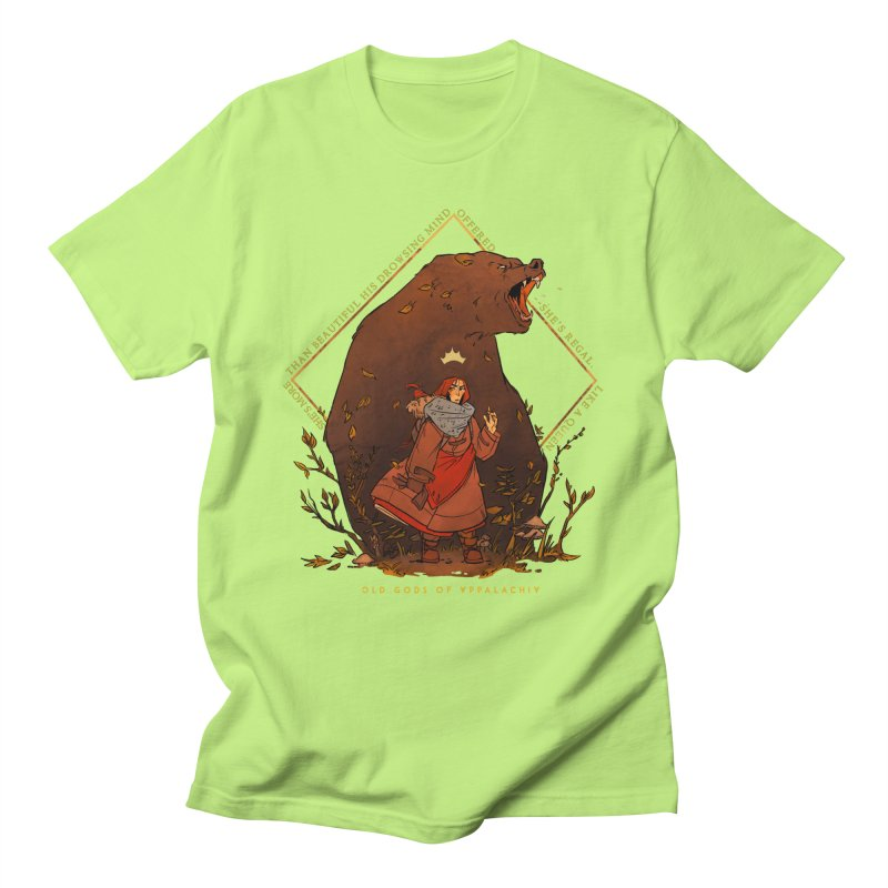 Old Gods of Appalachia: The Witch Queen and Bartholomew Men's Regular T-Shirt by OLD GODS OF APPALACHIA