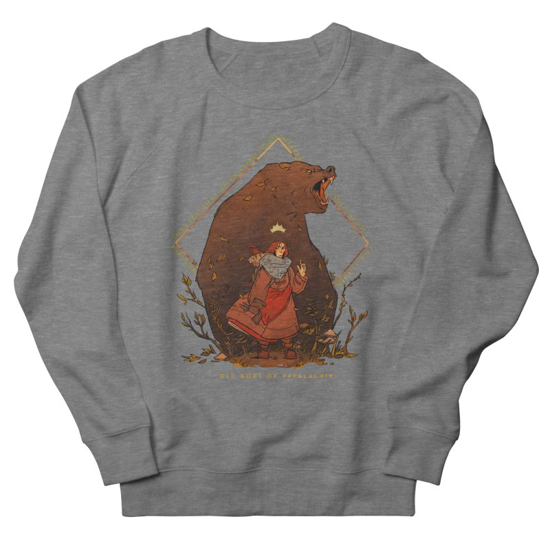 Old Gods of Appalachia: The Witch Queen and Bartholomew Women's French Terry Sweatshirt by OLD GODS OF APPALACHIA