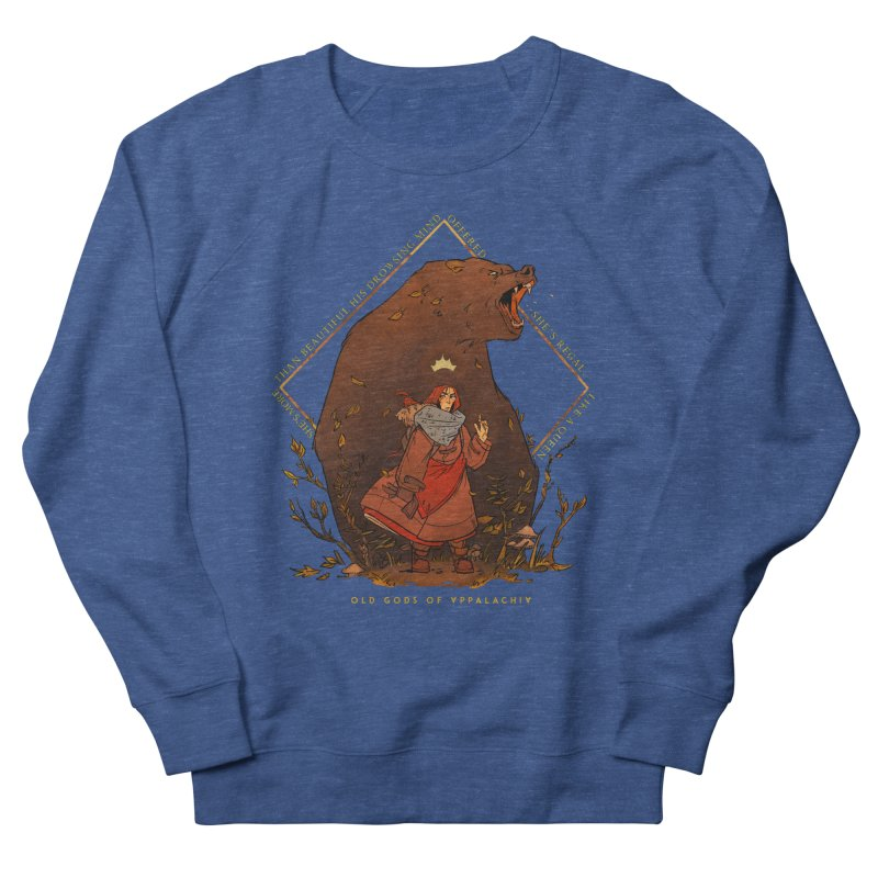 Old Gods of Appalachia: The Witch Queen and Bartholomew Men's French Terry Sweatshirt by OLD GODS OF APPALACHIA