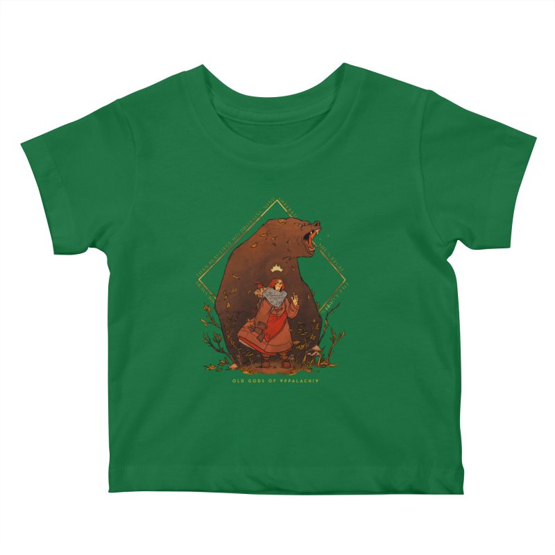 Old Gods of Appalachia: The Witch Queen and Bartholomew Kids Baby T-Shirt by OLD GODS OF APPALACHIA