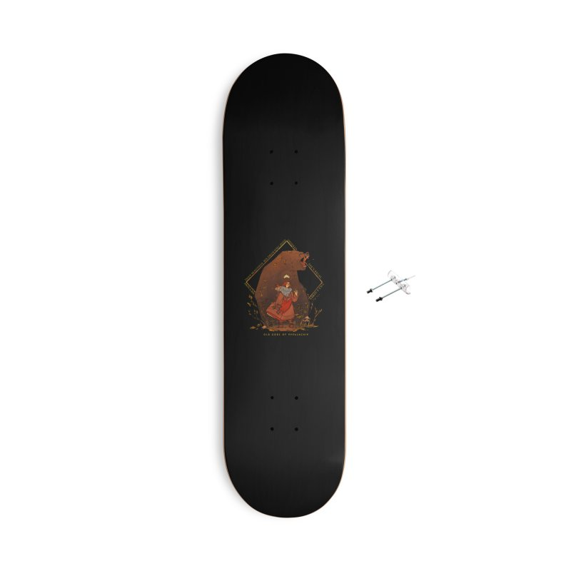 Old Gods of Appalachia: The Witch Queen and Bartholomew Accessories With Hanging Hardware Skateboard by OLD GODS OF APPALACHIA