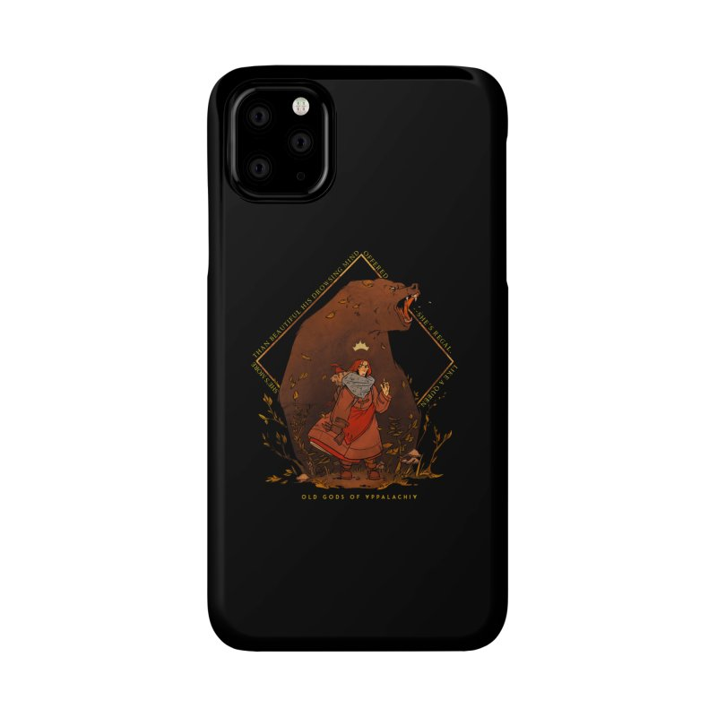 Old Gods of Appalachia: The Witch Queen and Bartholomew Accessories Phone Case by OLD GODS OF APPALACHIA