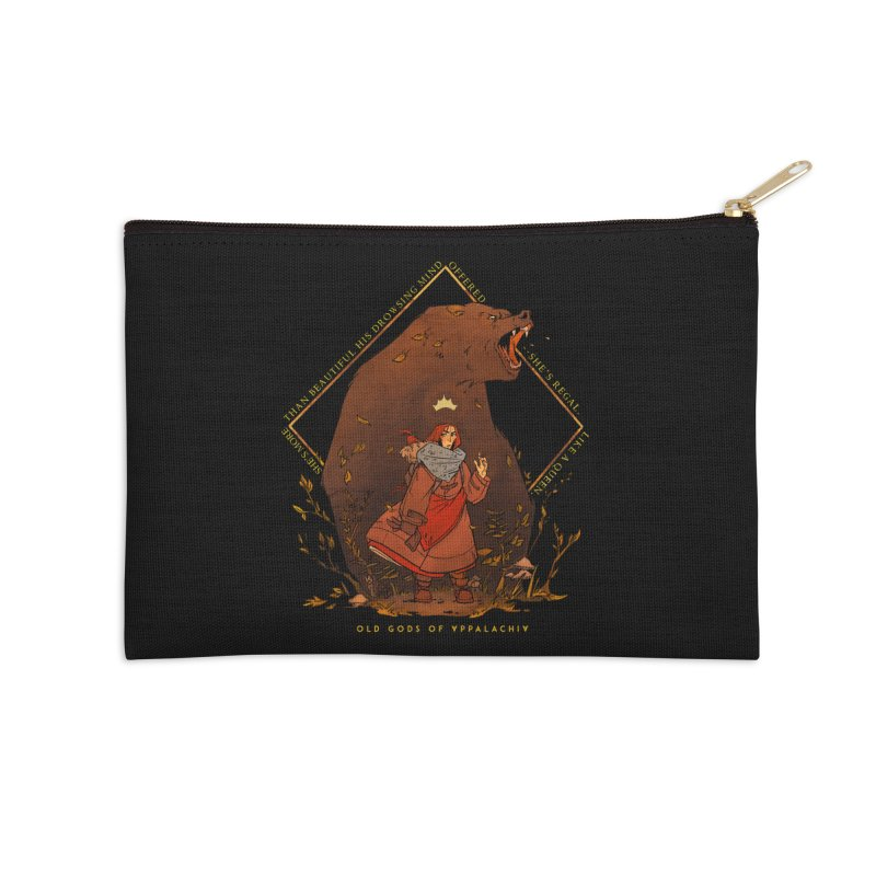 Old Gods of Appalachia: The Witch Queen and Bartholomew Accessories Zip Pouch by OLD GODS OF APPALACHIA