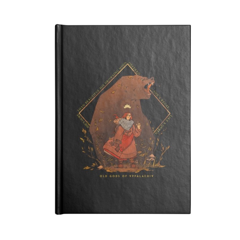 Old Gods of Appalachia: The Witch Queen and Bartholomew Accessories Blank Journal Notebook by OLD GODS OF APPALACHIA