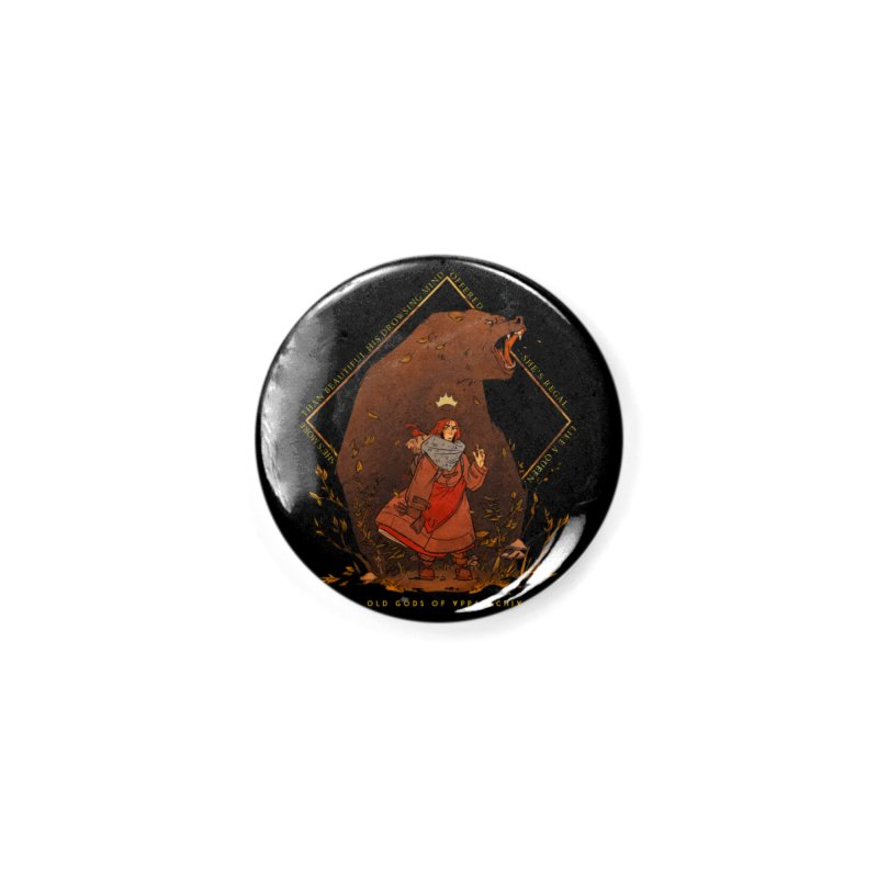 Old Gods of Appalachia: The Witch Queen and Bartholomew Accessories Button by OLD GODS OF APPALACHIA