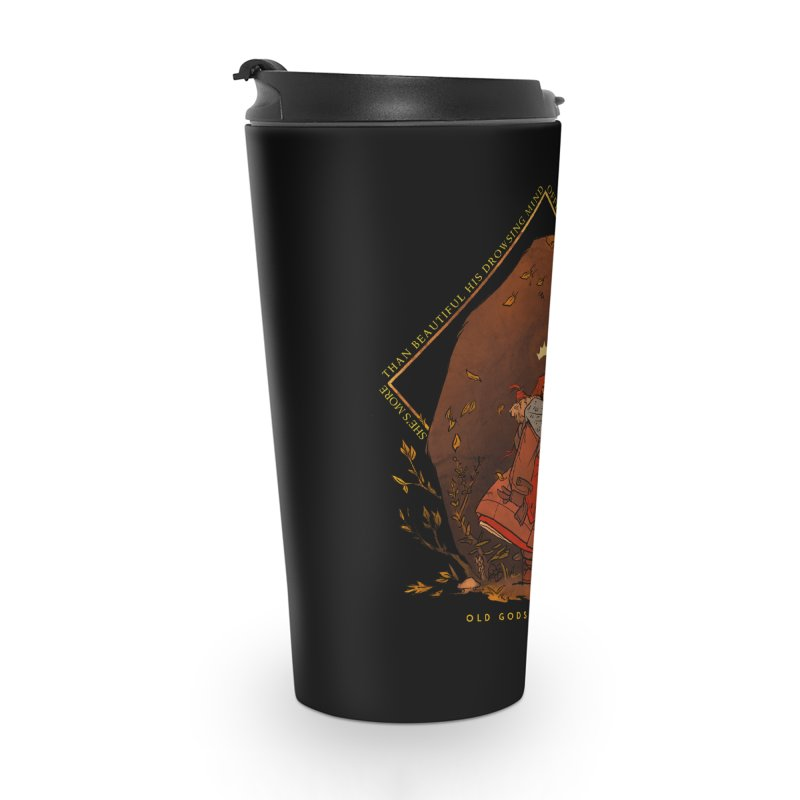Old Gods of Appalachia: The Witch Queen and Bartholomew Accessories Travel Mug by OLD GODS OF APPALACHIA