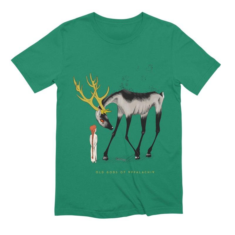 Old Gods of Appalachia: Speak True Beast Men's Extra Soft T-Shirt by OLD GODS OF APPALACHIA