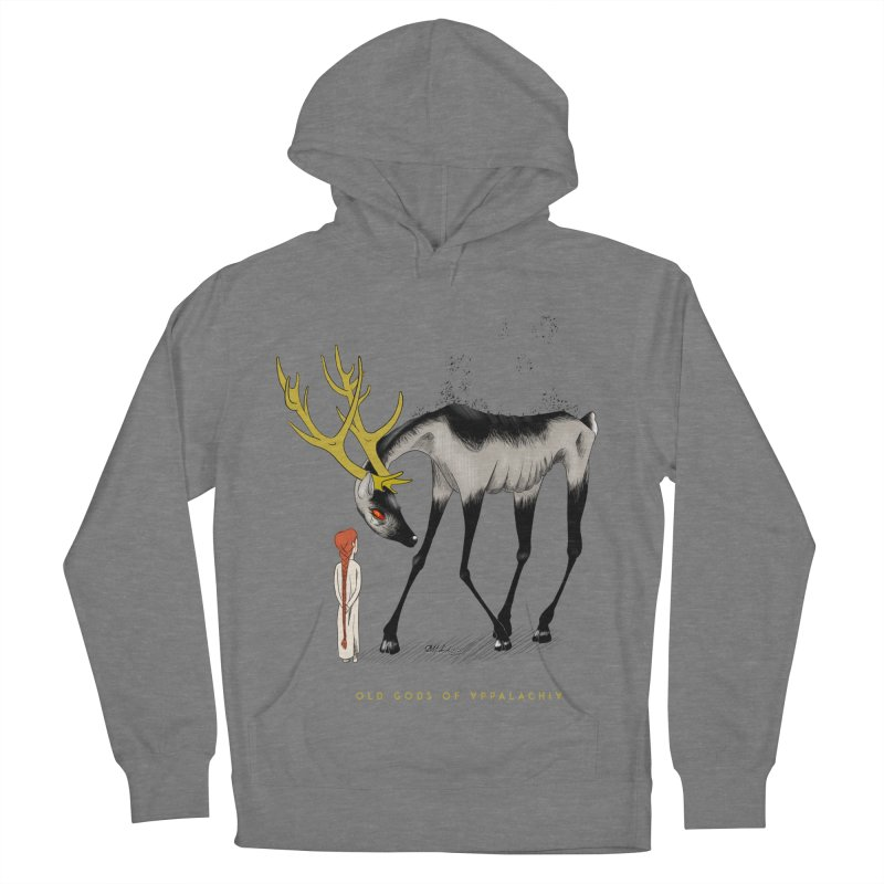 Old Gods of Appalachia: Speak True Beast Women's French Terry Pullover Hoody by OLD GODS OF APPALACHIA