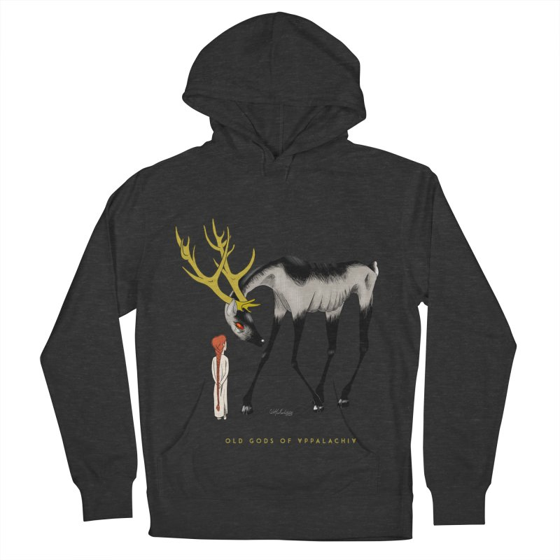 Old Gods of Appalachia: Speak True Beast Men's French Terry Pullover Hoody by OLD GODS OF APPALACHIA