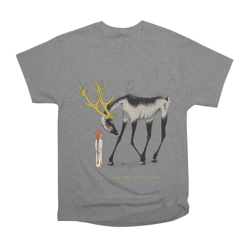Old Gods of Appalachia: Speak True Beast Women's Heavyweight Unisex T-Shirt by OLD GODS OF APPALACHIA