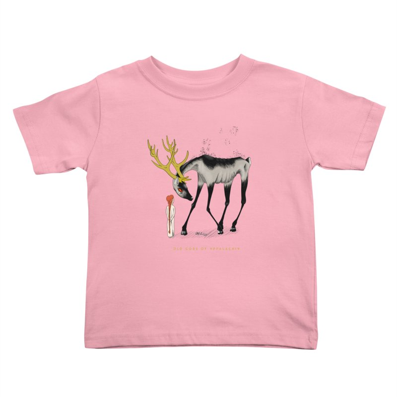 Old Gods of Appalachia: Speak True Beast Kids Toddler T-Shirt by OLD GODS OF APPALACHIA