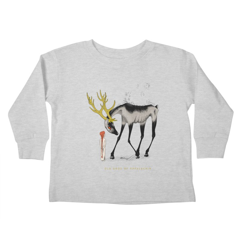 Old Gods of Appalachia: Speak True Beast Kids Toddler Longsleeve T-Shirt by OLD GODS OF APPALACHIA