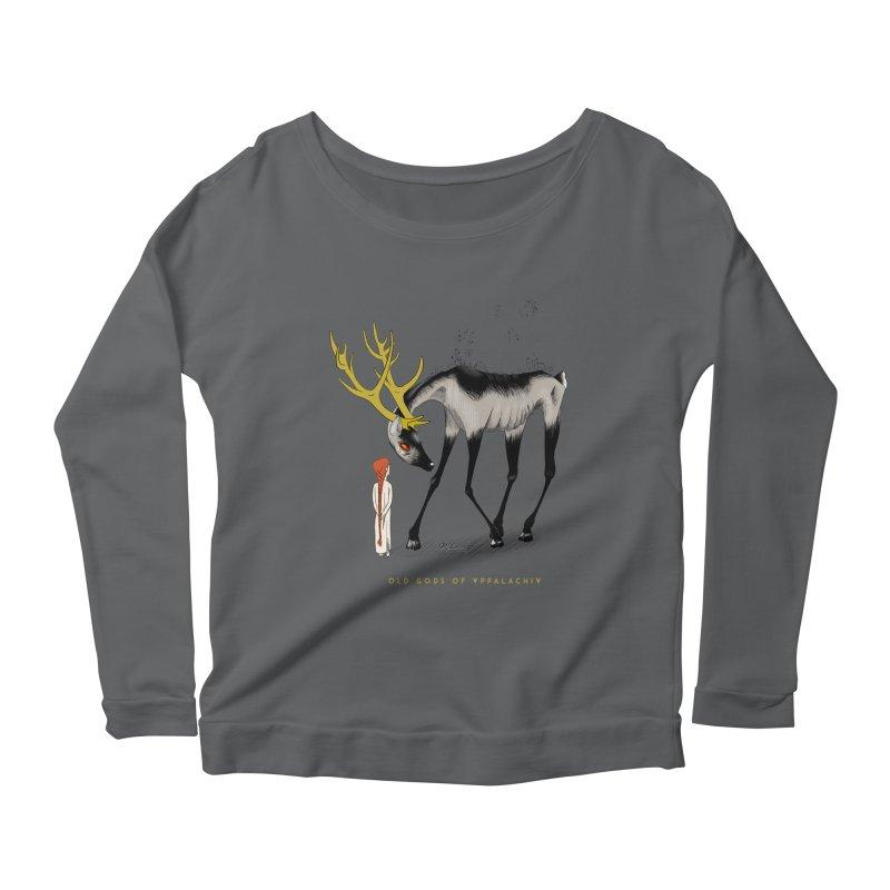 Old Gods of Appalachia: Speak True Beast Women's Scoop Neck Longsleeve T-Shirt by OLD GODS OF APPALACHIA