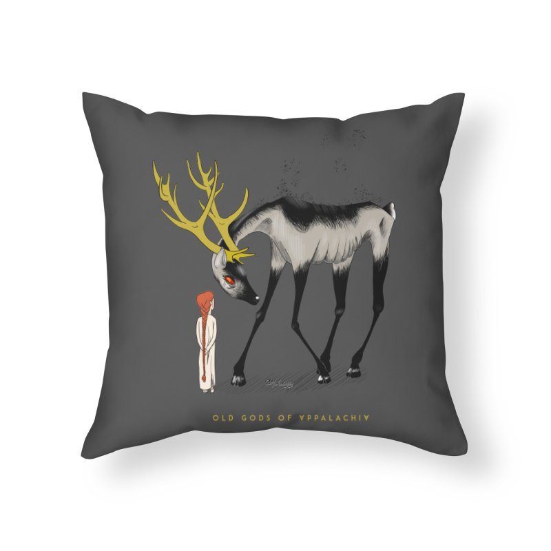 Old Gods of Appalachia: Speak True Beast Home Throw Pillow by OLD GODS OF APPALACHIA