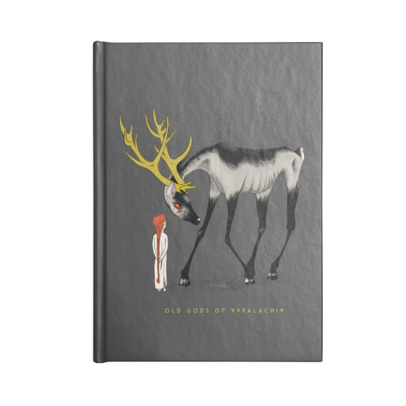 Old Gods of Appalachia: Speak True Beast Accessories Lined Journal Notebook by OLD GODS OF APPALACHIA