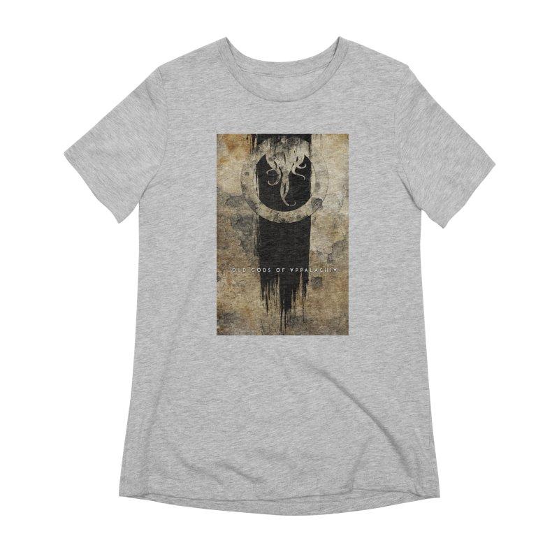 Old Gods of Appalachia: Bone and Shadow Women's Extra Soft T-Shirt by OLD GODS OF APPALACHIA