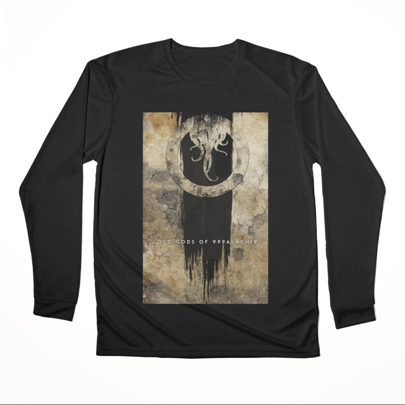 Old Gods of Appalachia: Bone and Shadow Men's Performance Longsleeve T-Shirt by OLD GODS OF APPALACHIA