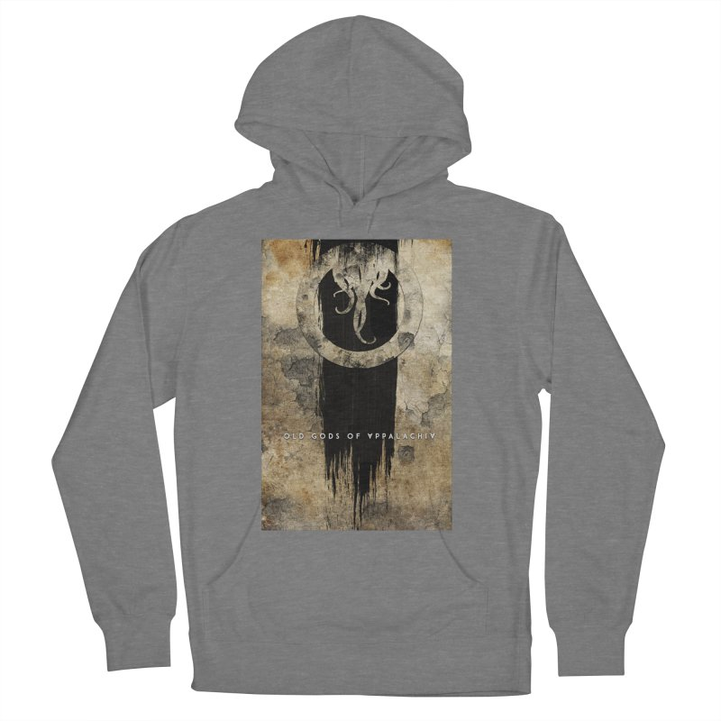 Old Gods of Appalachia: Bone and Shadow Women's French Terry Pullover Hoody by OLD GODS OF APPALACHIA