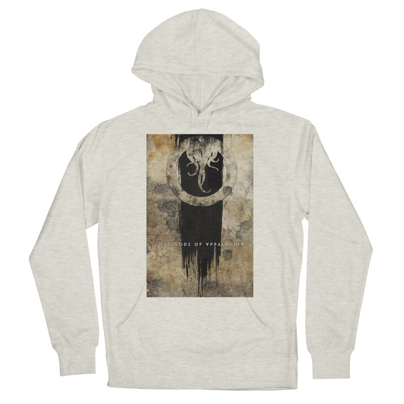 Old Gods of Appalachia: Bone and Shadow Men's French Terry Pullover Hoody by OLD GODS OF APPALACHIA