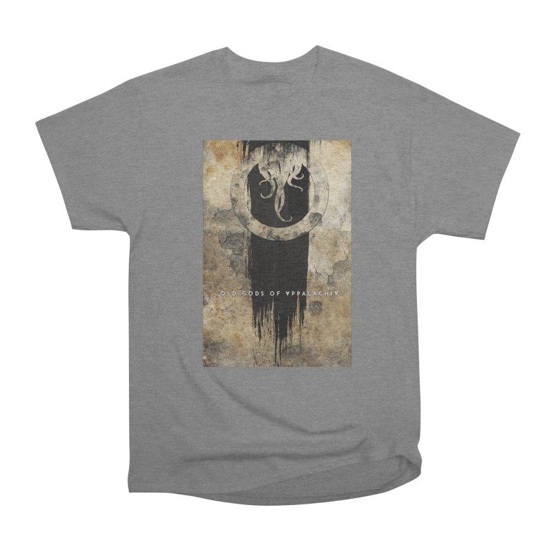 Old Gods of Appalachia: Bone and Shadow Men's Heavyweight T-Shirt by OLD GODS OF APPALACHIA