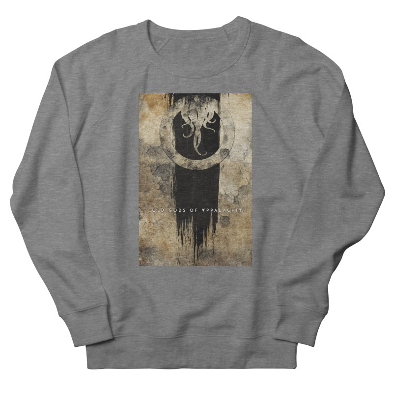 Old Gods of Appalachia: Bone and Shadow Men's French Terry Sweatshirt by OLD GODS OF APPALACHIA
