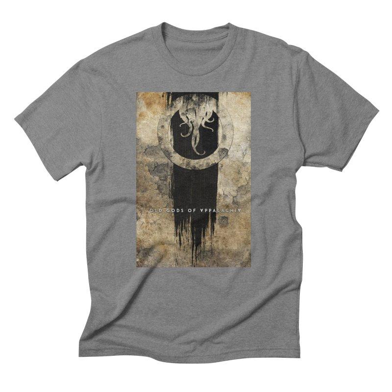 Old Gods of Appalachia: Bone and Shadow Men's Triblend T-Shirt by OLD GODS OF APPALACHIA