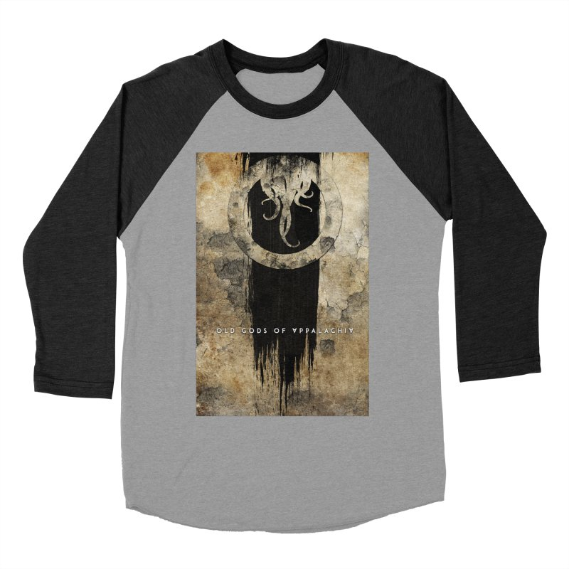 Old Gods of Appalachia: Bone and Shadow Women's Baseball Triblend Longsleeve T-Shirt by OLD GODS OF APPALACHIA