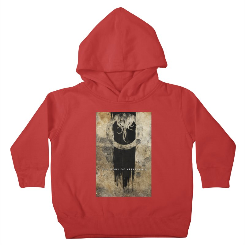 Old Gods of Appalachia: Bone and Shadow Kids Toddler Pullover Hoody by OLD GODS OF APPALACHIA