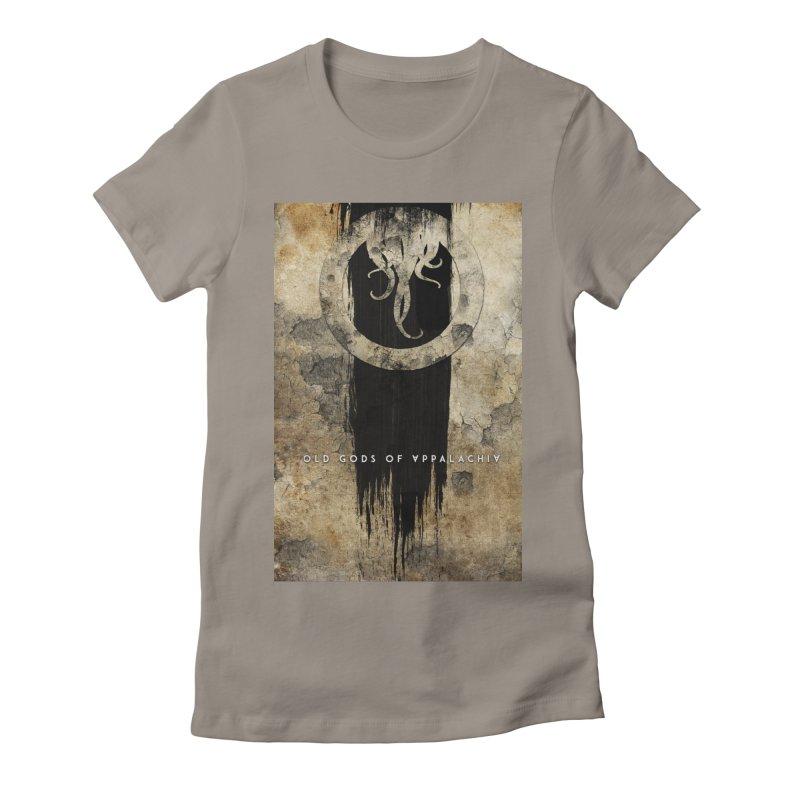 Old Gods of Appalachia: Bone and Shadow Women's Fitted T-Shirt by OLD GODS OF APPALACHIA