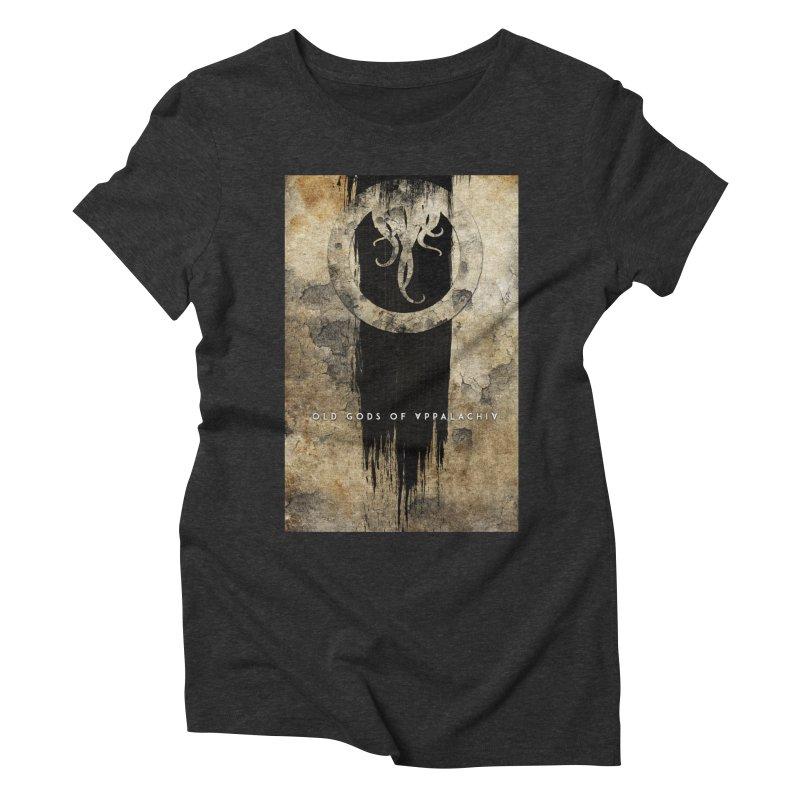 Old Gods of Appalachia: Bone and Shadow Women's Triblend T-Shirt by OLD GODS OF APPALACHIA