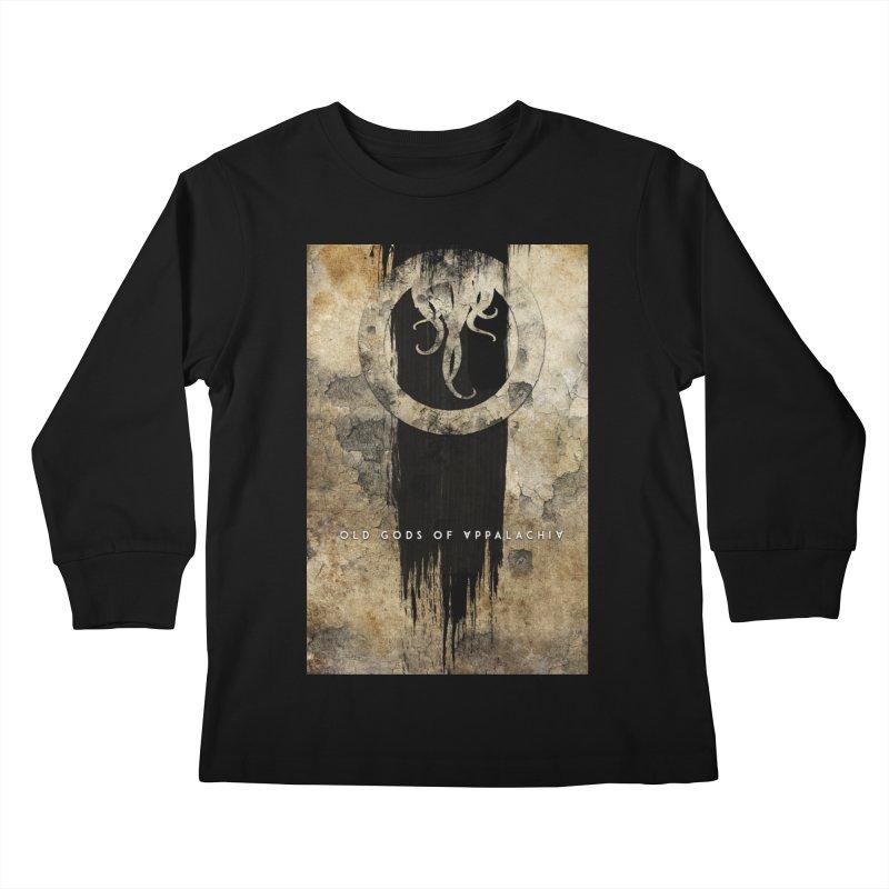 Old Gods of Appalachia: Bone and Shadow Kids Longsleeve T-Shirt by OLD GODS OF APPALACHIA