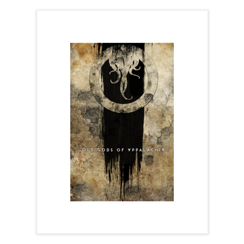 Old Gods of Appalachia: Bone and Shadow Home Fine Art Print by OLD GODS OF APPALACHIA