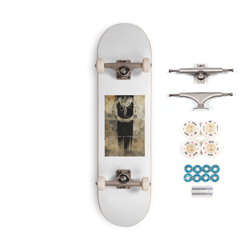 Old Gods of Appalachia: Bone and Shadow Accessories Complete - Premium Skateboard by OLD GODS OF APPALACHIA