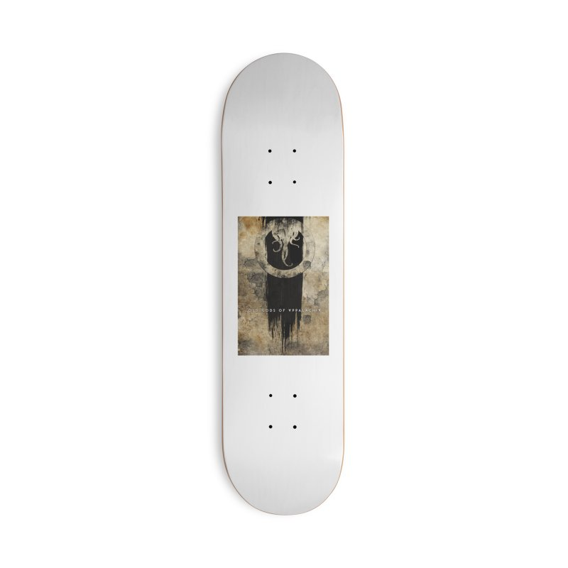 Old Gods of Appalachia: Bone and Shadow Accessories Deck Only Skateboard by OLD GODS OF APPALACHIA
