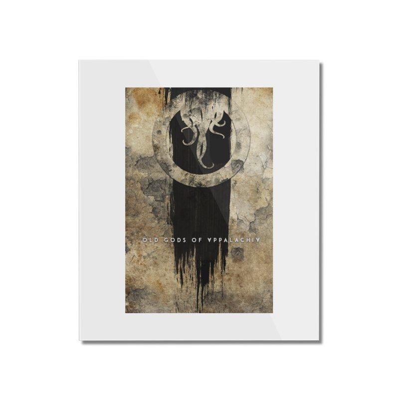 Old Gods of Appalachia: Bone and Shadow Home Mounted Acrylic Print by OLD GODS OF APPALACHIA