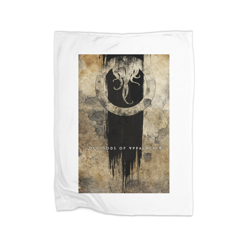 Old Gods of Appalachia: Bone and Shadow Home Fleece Blanket Blanket by OLD GODS OF APPALACHIA