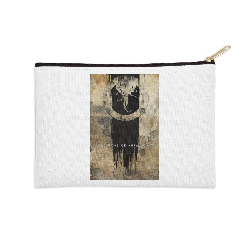 Old Gods of Appalachia: Bone and Shadow Accessories Zip Pouch by OLD GODS OF APPALACHIA
