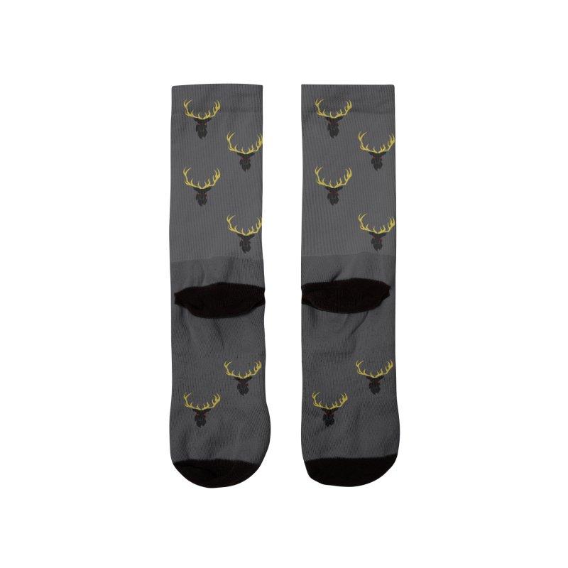 Horned Head, Hornet Head but Not Socks. Men's Socks by OLD GODS OF APPALACHIA