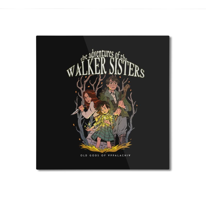 Old Gods of Appalachia - The Walker Sisters Home Mounted Aluminum Print by OLD GODS OF APPALACHIA