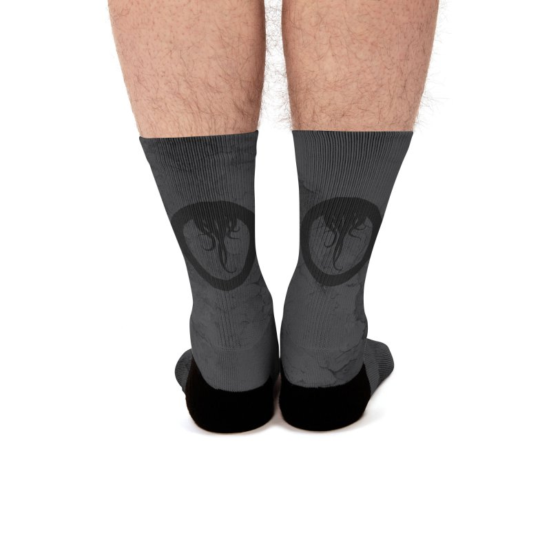 The Black Stag: Speak of Many Socks Men's Socks by OLD GODS OF APPALACHIA