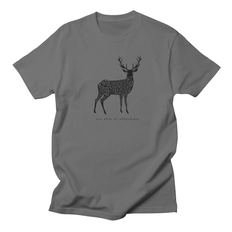 Horned Head: Meatchart Dark Men's T-Shirt by OLD GODS OF APPALACHIA