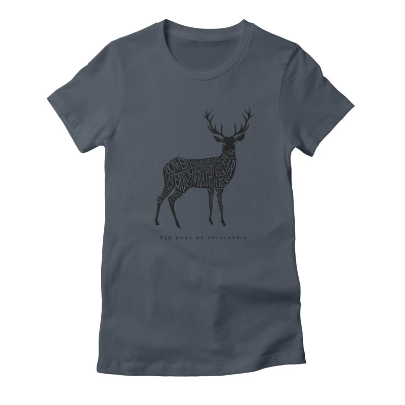 Horned Head: Meatchart Dark Women's T-Shirt by OLD GODS OF APPALACHIA