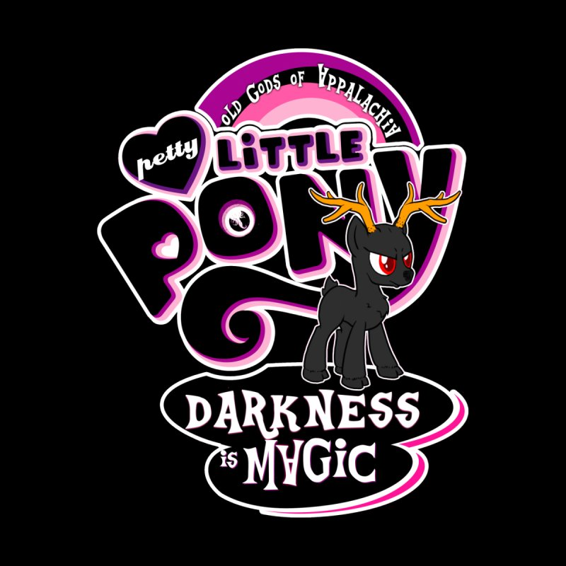 Old Gods of Appalachia: Petty Little Pony: LIMITED EDITION Kids Toddler Zip-Up Hoody by OLD GODS OF APPALACHIA