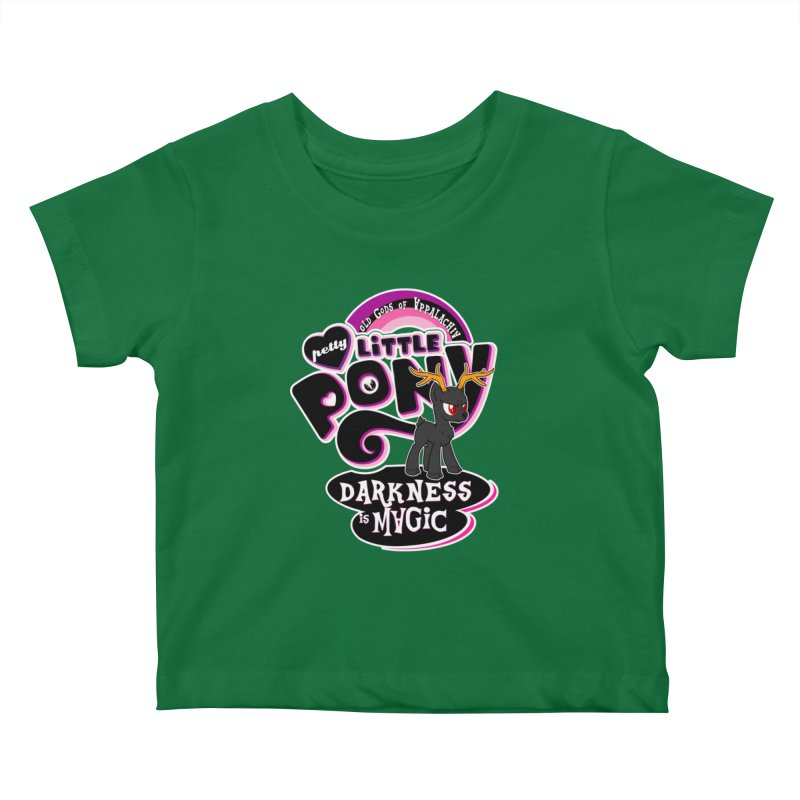 Old Gods of Appalachia: Petty Little Pony: LIMITED EDITION Kids Baby T-Shirt by OLD GODS OF APPALACHIA